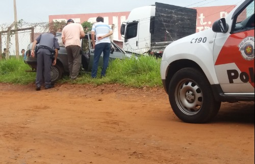 Homem foi socorrido após ser baleado em São Carlos (foto: ACidade ON São Carlos) - Foto: ACidade ON - São Carlos