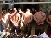 Oito da região integravam bando preso em Uberaba