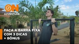 Aprenda como conseguir fazer a Barra Fixa de forma simples