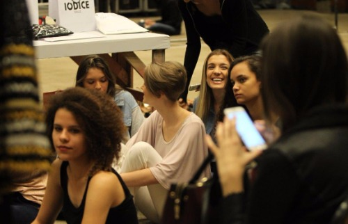 Mariana Martins / A Cidade - Bastidores do desfile para o Fashion For You (Foto: Mariana Martins/ A Cidade)