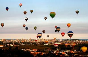 Campeonato Mundial de Balonismo - Foto: Divulgação