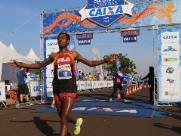 Etíope e queniana vencem Circuito de Corridas da Caixa