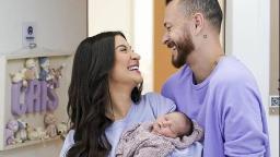 Bianca Andrade e Fred celebram primeira semana de filho Cris