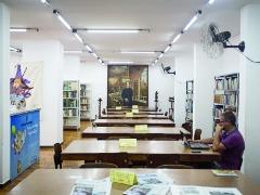 A biblioteca conta atualmente com um acervo de 18,5 mil livros - Foto: Weber Sian / A Cidade