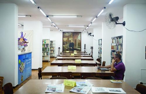 Weber Sian / A Cidade - A biblioteca conta atualmente com um acervo de 18,5 mil livros