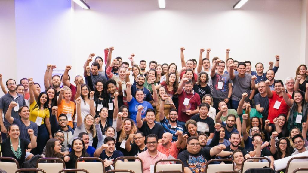 Na imagem, parte do grupo participante de uma das edições do InPulso, programa que ajuda colaboradores que têm o desejo de empreender e os conduz à efetivação dos objetivos através da abertura de novos negócios. - Foto: ACidade ON - Ribeirão Preto