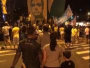 Eleitores comemoraram em Ribeirão Preto vitória de Bolsonaro