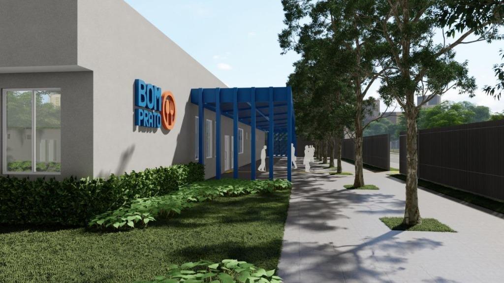 Projeção do prédio do novo Bom Prato (Imagem: Reprodução) - Foto: ACidade ON - Ribeirão Preto