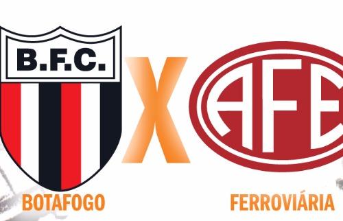 Reprodução - Botafogo e Ferroviária