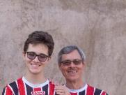 Jovem com deficiência visual descobre amor pelo Botafogo