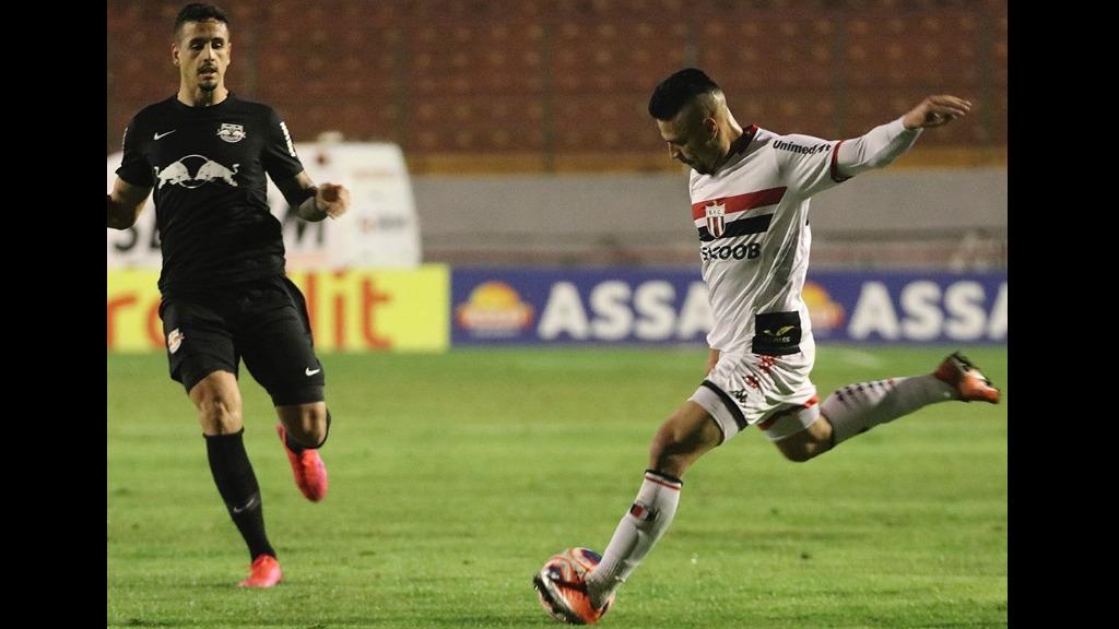 Bragantino e Botafogo fizeram um jogo equilibrado (Foto: Assessoria do Botafogo) - Foto: Agências