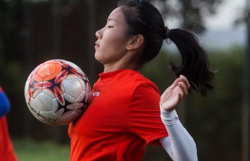 Milena Aurea / A Cidade - Elenco tricolor conta com 14 chinesas no Campeonato Paulista feminino deste ano, o Paulistana