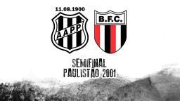 Botafogo: SporTV reprisa jogo histórico pelo Paulistão 2001