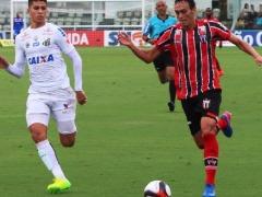 Botafogo enfrentou o Santos, pelo Paulistão, neste sábado (25) - Foto: Luís Augusto / Botafogo FC