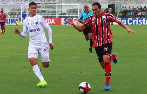 Luís Augusto / Botafogo FC - Botafogo enfrentou o Santos, pelo Paulistão, neste sábado (25)