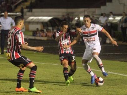 Botafogo enfrentou o São Paulo nesta quarta-feira (22) - Foto: Matheus Urenha / A Cidade
