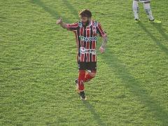 Meia Guilherme Garré abriu caminho para vitória com primeiro gol contra o Luverdense-MT (Foto Raul Ramos/Agência Botafogo) - Foto: Foto Raul Ramos/Agência Botafogo