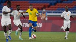Brasil e Costa do Marfim ficam no empate sem gols pela segunda rodada dos Jogos Olímpicos
