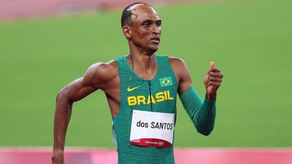Alison dos Santos está na final dos 400m com barreiras (Foto: Wander Roberto/COB) - Foto: Wander Roberto/COB