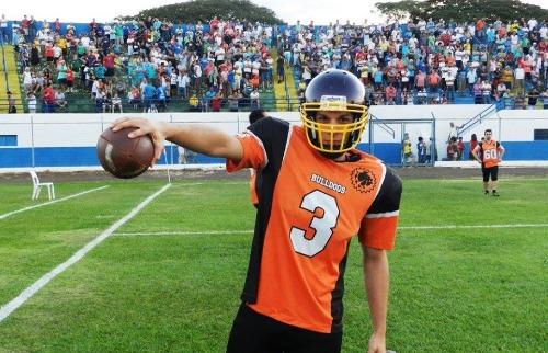 Divulgação - Equipe Bulldogs de futebol americano de São Carlos