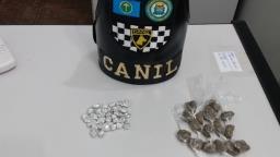 Adolescente é detido vendendo drogas perto de cemitério na Vila Prado
