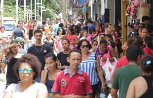 F.L.Piton / A Cidade - Calçadão de Ribeirão Preto