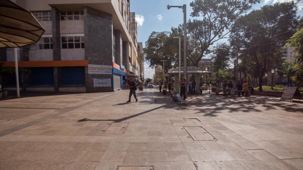 Calçadão de Ribeirão Preto (Foto: Weber Sian / ACidade ON) - Foto: ACidade ON - Ribeirão Preto