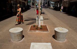 Weber Sian / A Cidade - Após quase quatro anos e meio de obras, prefeitura promete término do Calçadão para o final de outubro