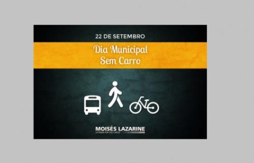 ACidade ON - São Carlos - Câmara aprova projeto de lei para 'Dia Municipal Sem Carro' em São Carlos