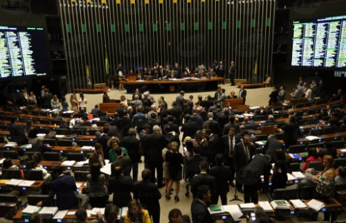 Agência Brasil - Plenário da Câmara dos Deputados