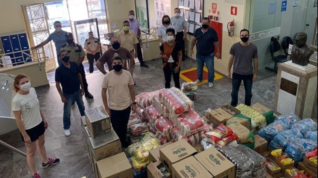 Câmara lança ação solidária e doa duas toneladas de alimentos - Foto: ACidade ON - Araraquara