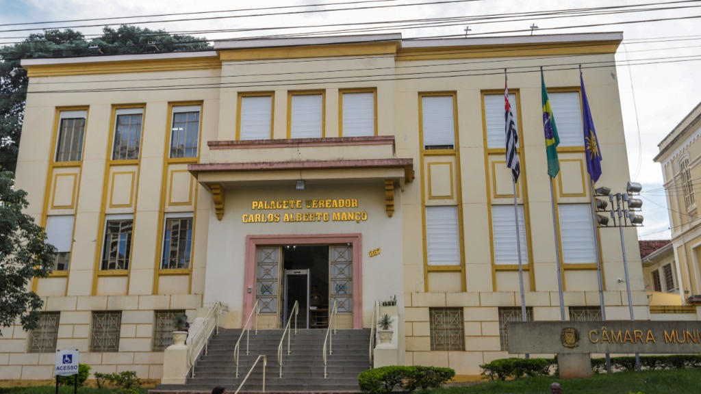 Câmara Municipal de Araraquara (Foto: Amanda Rocha/ACidadeON) - Foto: Amanda Rocha