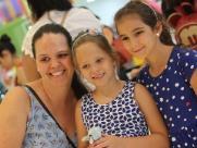 Camila, Noelle e Luana de Biagi no Ecoparque Discovery Kids; veja mais fotos na galeria (foto: Murilo Corte / ME) - Foto: Murilo Corte / ME