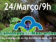 ONG promove caminhada pelas margens do Córrego Tanquinho, no Selmi Dei