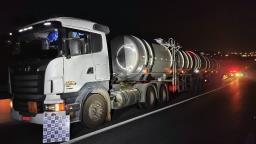 Homem é preso em Campinas com caminhão-tanque roubado