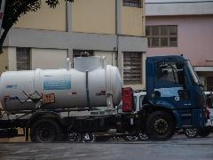 Caminhão-pipa do Daerp - Foto: Weber Sian / A Cidade