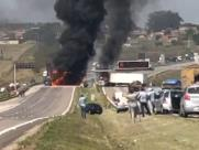 Assalto em Viracopos leva pânico e deixa ao menos dois feridos