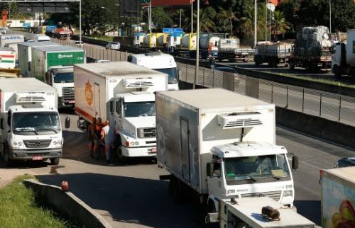 Tomaz Silva/Agência Brasil - Caminhoneiros fizeram bloqueios em várias rodovias do país. Foto: Tomaz Silva/Agência Brasil