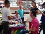 Evento em frente à Prefeitura marca dia mundial de luta contra IST/Aids