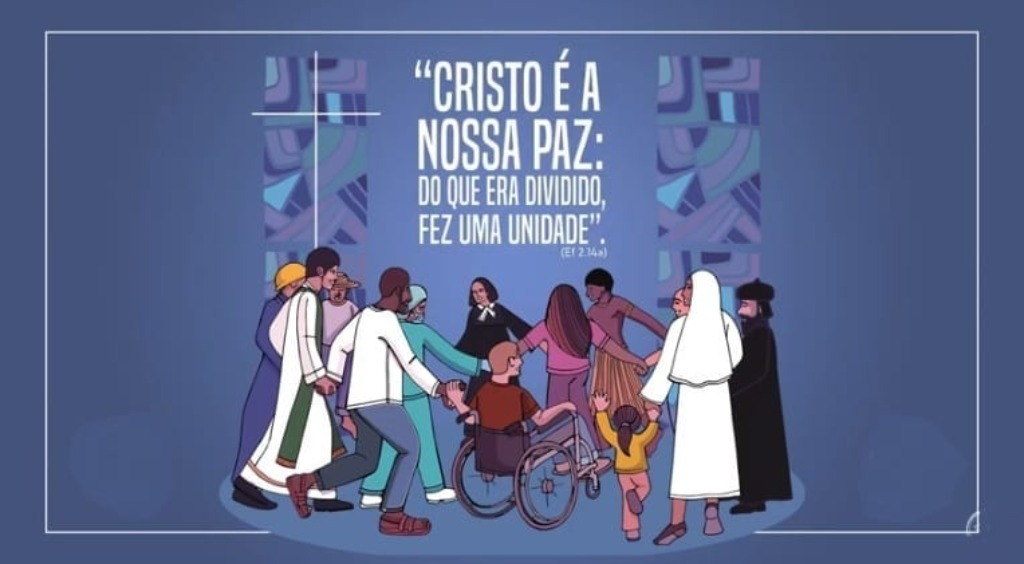 Arte da Campanha da Fraternidade Ecumênica   Divulgação - Foto: Divulgação