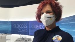 Candidata Flávia Lancha tem resultado negativo para covid-19