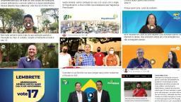 Candidatos investem quase R$ 45 mil em patrocinados nas redes