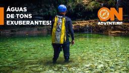 Cânion Verde Água: uma aventura nas águas mais lindas que você já viu.