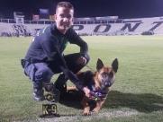 Cão, da GM, ganha 1º lugar no Torneio de Ações Especiais K-9