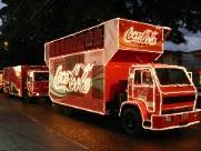 Caravana de Natal da Coca-Cola passará nas cidades da região nesta semana