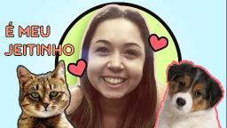 Carinhos demonstrados por cães e gatos são diferentes?