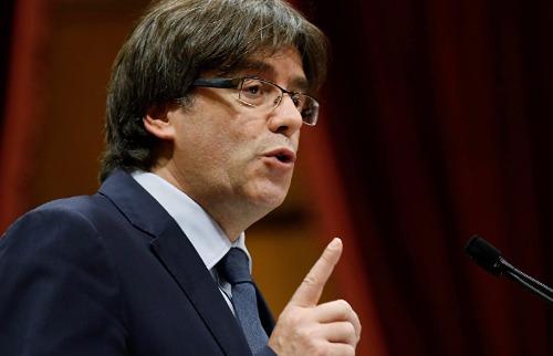 Carles Puigdemont, presidente da Catalunha - Foto: Divulgação