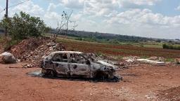 Carro de homem desaparecido é encontrado incendiado