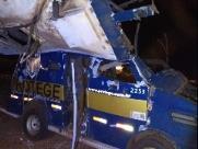 Vigilantes baleados em roubo a carro-forte seguem internados