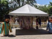 Além de oficinas e cortejo de bonecos, público pode conferir 60 reproduções de obras de Candido Portinari - Foto: Milena Aurea / A Cidade